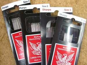 Sharps - Large Eye Needles 1-4