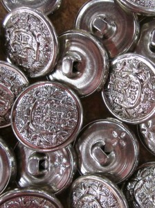 Buttons - Silver Pattern 1