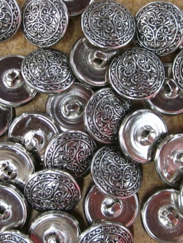 Buttons - Silver Pattern 2