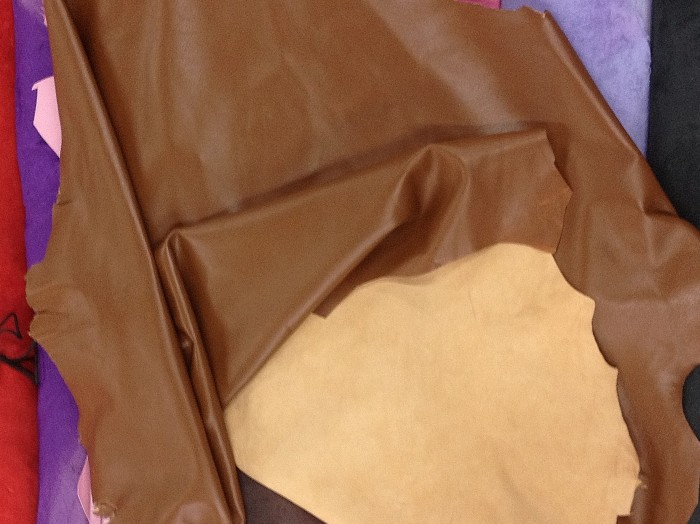 Lambskin - Brown Cognac