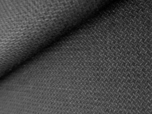 Suiting Fabric 100% Wool Black - B3