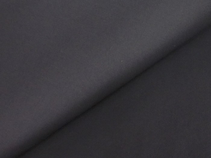 Suiting Fabric Wool Black B4