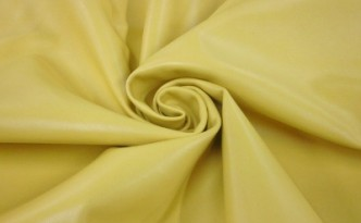 Lambskin Leather in Yellow